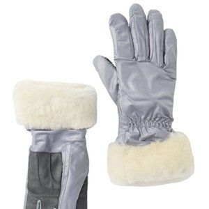 NEW UGG Genuine Dyed Shearling Trim Tech Gloves
